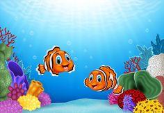 Royalty-Free Vector Images by tigatelu - Page 27 Underwater Cartoon, Underwater World, Free Vector Images, Vector Free, Cute Clown, Cartoon Pics, Adobe Illustrator, Dinosaur Stuffed Animal, Royalty