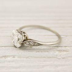 vintage Tiffany engagement ring