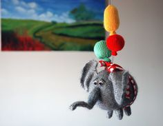 Hey, I found this really awesome Etsy listing at https://www.etsy.com/listing/129377481/airy-fairy-flying-elephant-with-3
