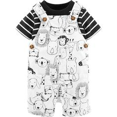 Baby Boy Carter's Striped Tee & Animal Shortalls Set, Print Source by lamb_og boy outfits Baby Boy Fashion, Toddler Fashion, Kids Fashion, Baby Outfits, Kids Outfits, Cute Baby Clothes, Baby & Toddler Clothing, Carters Baby Clothes, Babies Clothes