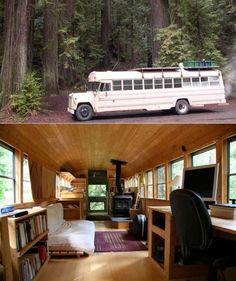 Amazing bus home