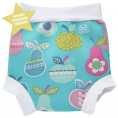 Splash About Happy Nappy Swim Diaper Tutti Frutti -X Large 12-24 Months