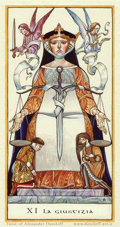 Tarot by Alexander Daniloff 2010 Major Arcana on Behance