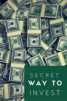 Check Out The Secret Way To Invest