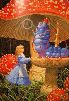"""2 апреля - Международный день детской книги И вот вам подарок!:) Новая подборка в Артхиве: лучшие художники иллюстрируют """"Алису в Стране чудес"""":"""
