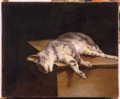 The Dead Cat, Theodore Gericault, 1821, Oil On Canvas, Held By Musee Du Louvre, Paris, France.