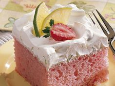 Strawberry Margarita Cake! Delish