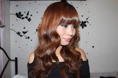 Korean mool gyul curls