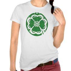 Lucky Clover Women's T-Shirt; Abigail Davidson Art