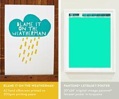 Pantone posters from Outofprints.com!