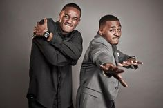 Actors Jessie T. Usher and RonReaco Lee from 'Survivors Remorse' new Starz Series from Executive Producer and NBA Star Lebron James - Premieres Oct. Starz Series, Tv Series, Survivor's Remorse, Fall Tv, Man Crush Monday, Nba Stars, The Beverly, Executive Producer, Jessie