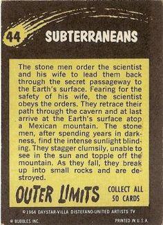 44 Subterraneans