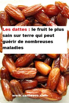 nutrition - Eat 3 Dates Daily And These 6 Things Will Happen To Your Body! Healthy Fruits, Healthy Snacks, Healthy Recipes, Healthy Juices, Top Recipes, Diabetic Recipes, Free Recipes, Health Tips, Health And Wellness