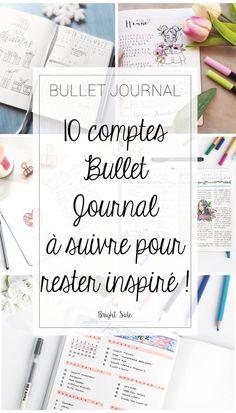 10 comptes bullet journal à suivre pour rester inspiré !
