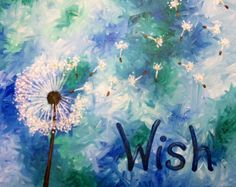 I am going to paint Make a Wish at Pinot's Palette - Buffalo-Amherst to discover my inner artist!