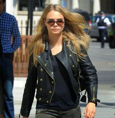 How to Chic: CARA DELEVINGNE - STREET STYLE