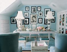 office paint color ideas on domino.com Salisbury Point by Ralph Lauren