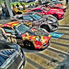 On the way to Monaco! Phenomenal Gumball 3000 supercar line up