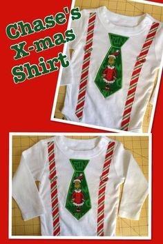 Baby grinch suspenders christmas onesie