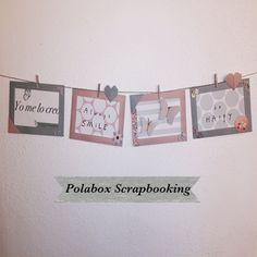 #scrap  #polabox #creatividad  #papiroflexia #HechoAMano #ConAmor