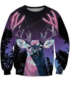 Antler Constellation Crewneck Sweatshirt | Mopixiestore.com