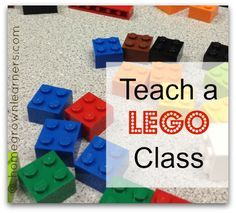 My LEGO Gift to You - 10 weeks of plans thanks to @Mary Powers Prather (Homegrown Learners)