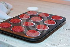 Photo about A combination of red on a bluri background. Image of chocolate, bluri, strawberries - 63616739 Images Of Chocolate, Red Velvet Cupcakes, Muffin, Strawberry, Muffins, Strawberry Fruit, Cupcakes, Strawberries, Strawberry Plant