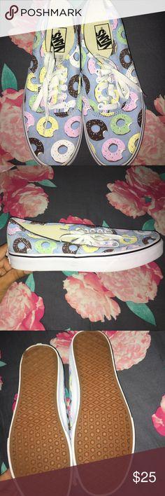 New never worn doughnut van shoes New never worn lowrise doughnut van shoes size 8 in US women vans Shoes Sneakers