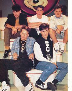 The New Kids on the Block members are Jordan Knight, Jonathan Knight, Donnie Wahlberg, Danny Wood, and Joseph (Joe, Joey) McIntyre.
