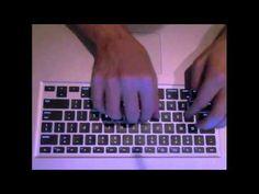 BROKEN PIANIST - Musical typing on Apple #Garageband (with #FREE sheet #music!)