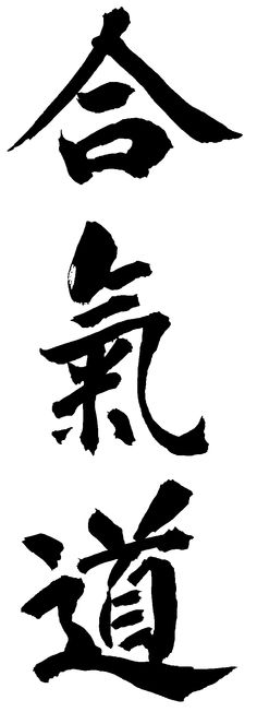 AIKIDO / HAPKIDO - the Japanese kanji figures ffor Aikido and the Korean figures for Hapkido are exactly alike and translate into the same English words: the art of power and coordination/harmony.