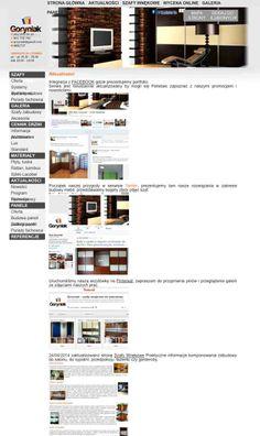 Aktualności w firmie od teraz zawsze dostępne na https://twitter.com/Goryniak_szafy/status/471030096464465920/photo/1 więcej info na http://www.goryniak.pl/aktualnosci.html