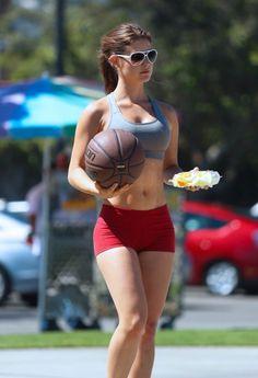 Amanda Cerny - plays basketball in Beverly Hills - http://www.icelev.com/2014/08/amanda-cerny-plays-basketball-beverly-hills/ - Icelev.com, true paradise on Earth
