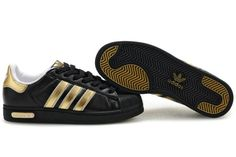 Adidas Superstar 2.5 Mens Trainers Black Gold