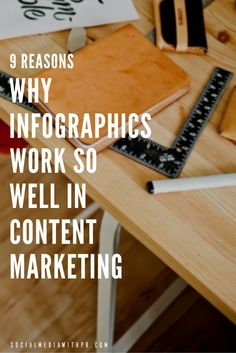 """Infographics are very much """"in"""" these days! But do you know why they work so well in content marketing? Take a look at these 9 reasons as to why you should be taking advantage of the power of infographics in your content marketing. 