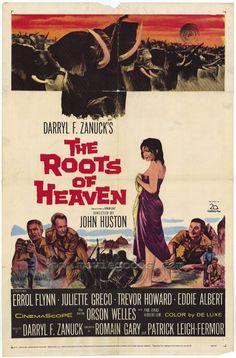The Roots Of Heaven (1958) - Errol Flynn DVD