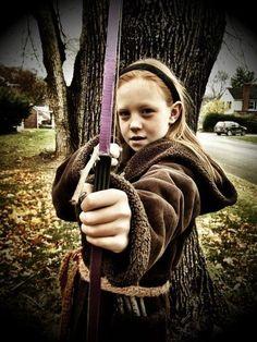 The Hunter Of Artemis -- 42 Fierce Halloween Costumes For Girls