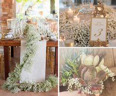 Znalezione obrazy dla zapytania gipsówka i kolorowe kwiaty wesele