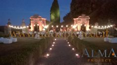 ALMA PROJECT @ Villa di Geggiano - Bulbs setup - architectural lighting