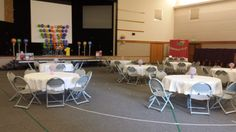 Party Room at the Candy Land First Birthday Party