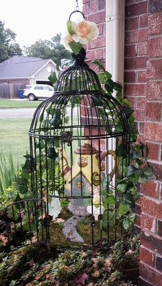 168 Best Bird Cages In The Garden Images In 2019