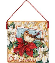 Gold Collection Faith Ornament Counted Cross Stitch Kit