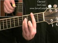How To Play Jim Croce Operator (full lesson) - YouTube