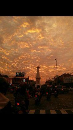 Senja di Jogja Sunset Sky, Sunrise, Aesthetic Eyes, Borobudur, Photos Tumblr, Yogyakarta, Beautiful Sky, Aesthetic Vintage, Galaxy Wallpaper