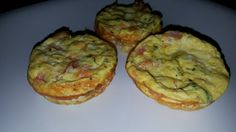 Mini quiches made with Egg Beaters blended with spreadable swiss cheese, diced mozzarella, nutmeg, and dried thyme. Sauteed shredded zucchini, shredded summer squash, shredded carrots, diced tomatoes, diced onion, chopped garlic, sea salt, and corse black pepper. DELISH!!