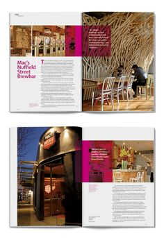 Eye Magazine - Magazine design and advertising by The Fount , via Behance