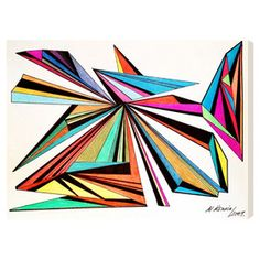 Architecta Graphic Art on Wrapped Canvas