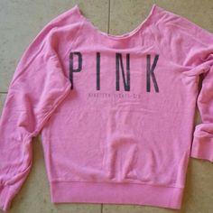 V/S Pink sweatshirt Heather pink sweatshirt from Victoria Secret PINK Victoria's Secret Tops Sweatshirts & Hoodies