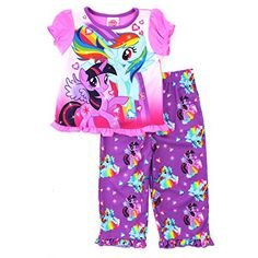 Hasbro Little Girls' My Little Pony Pajama Set Hasbro http://www.amazon.com/dp/B00TU6954C/ref=cm_sw_r_pi_dp_eFSSvb17XNA20