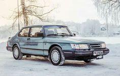 Saab 900 classic 'Ice-Blue'